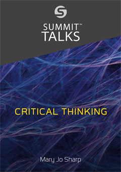 Critical Thinking-Mary Jo Sharp
